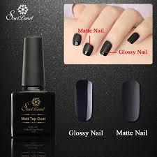 saviland 1pcs 10ml matt varnish matte top coat nail gel polish