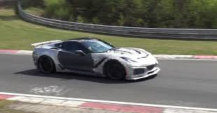 newest corvette zr1 the 2018 corvette zr1 looks committed on the nurburgring in