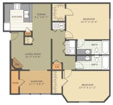 macon ga apartment the vistas floorplans