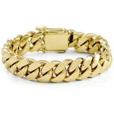 box bracelet clasp images Vermeil miami cuban link bracelet with box clasp 16mm jpg