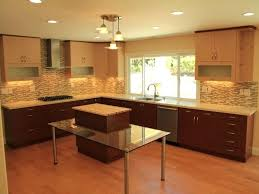 wall cabinets on floor color combinations for kitchens monochromatic kitchen with light and