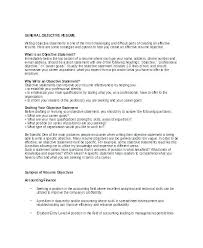 resume objective statements resume objective statement exles basic resume objective