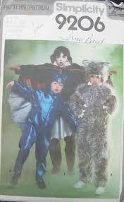 Childrens Halloween Costume Patterns Clown Halloween Costume 7649 Simplicity Sewing Pattern Men Women