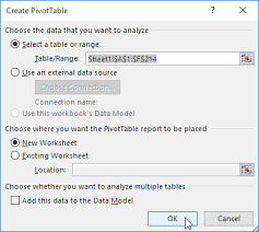 before you create a pivot table it is important to pivot tables in excel easy excel tutorial