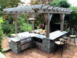 ideas for outdoor kitchen outdoor kitchen ideas pauljcantor