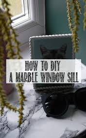 how to diy a marble window sill u2013 well i guess this is growing up