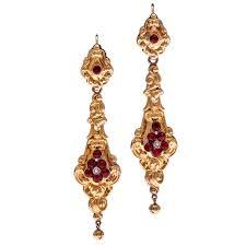 garnet earrings early gold day to garnet earrings for sale at