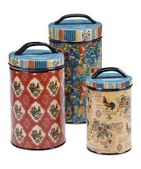 Country Canister Sets For Kitchen 28 French Country Kitchen Canisters Canister Set Shabby