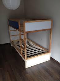 Ikea Kura Ikea Kura Double Bunk Bed Extra Hidden Bed Sleeps 3 Ikea