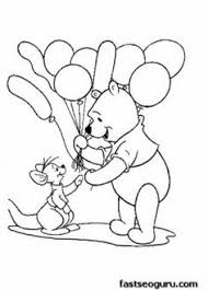 winnie pooh birthday coloring pages birthday ideas