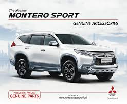 mitsubishi pajero sport 2018 mitsubishi motors philippines offers line of genuine accessories