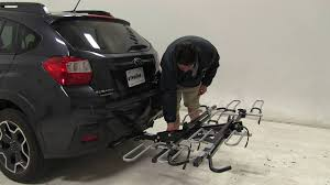 grey subaru crosstrek 2017 bikes subaru crosstrek ecohitch bike rack for 2017 subaru