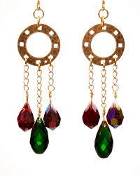 Crystal Chandelier Earrings Beadfeast Beadfingers Beads And Beyond November 2012