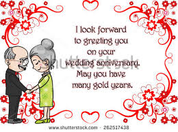 anniversary greeting cards wedding anniversary greeting card vector with