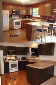 Antique Painted Kitchen Cabinets Set Wonderful Chocolate Brown Painted Kitchen Cabinets Wooden