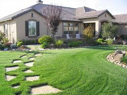 home front landscaping ideas for front yard a ranch style house