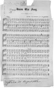 union war song library of congress