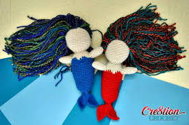 free crochet amigurumi mermaid pattern archives crochet kingdom