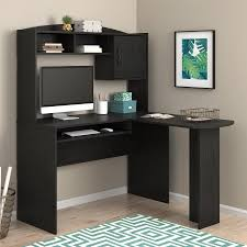 Office Computer Desks Mainstays L Shaped Desk With Hutch Multiple Colors Walmart Com