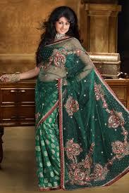 resham embroidery in jaal work makes indian clothing charming net u0026 viscose sari design of resham embroidery jari stones