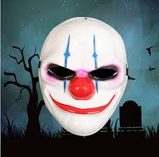 payday 2 halloween masks 1pcs pvc scary clown mask payday 2 halloween mask for antifaz