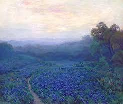 breathtaking impressionist paintings of bluebonnets by julian