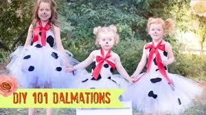diy 101 dalmations no sew tutu costume youtube