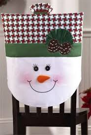 Christmas Chair Back Covers Snowman Chair Covers 14 99 Http Www Collectionsetc Com Product
