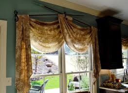 decor u0026 tips scarf curtains for window valance ideas with curtain