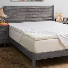 grande hotel collection comfort loft 3 inch memory foam mattress