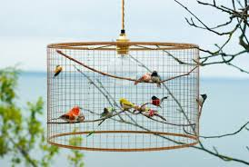 Birdcage Pendant Light Chandelier Copper Birdcage Pendant Light Chandelier By Kekoni On Etsy