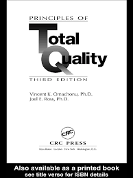principles of tqm joel e ross ebook 1 business process iso
