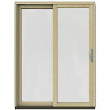 Jeld Wen 4500 by Sliding Patio Door Jeld Wen Patio Doors Exterior Doors The
