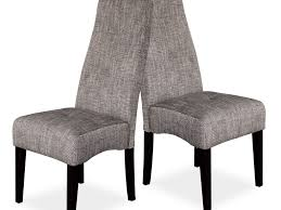 chairs 38 high back fabric upholstered dining room chairs in