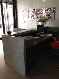 Reception Desk Miami Reception Desk Industrial Kitchen Miami By Porto Designs