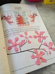 Peinture Cerisier Japonais by Petits Homeschoolers Maternelle Peindre Des Fleurs De Cerisier