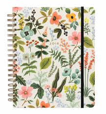 2018 herb garden 17 month planner by rifle paper co imported