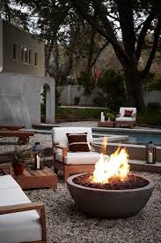 Patio Table With Built In Fire Pit - best 25 modern fire pit ideas on pinterest gel fireplace