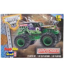 snaptite plastic model kit grave digger monster truck 1 25 joann