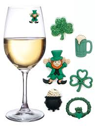 amazon com st patricks day magnetic drink markers and wine