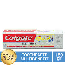 Pasta Gigi Colgate colgate total professional clean mint toothpaste pasta gigi 150g
