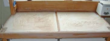 making wedging table and clay recycling plaster boards tips and