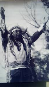 a picture of chief david bald eagle sitting bull u0027s grandson