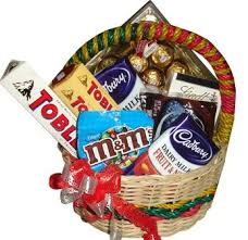chocolate basket delivery sweet tooth premium chocolate basket flower delivery philippines