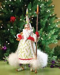 patience brewster candlelight santa figure krinkles