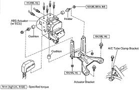 abs light toyota camry repair guides anti lock brake system abs actuator autozone com