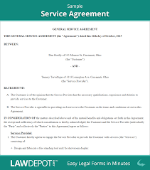 Invoice Services Rendered Template by Service Agreement Form Free Service Contract Template Us