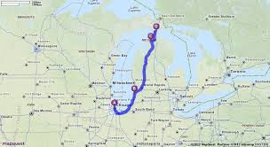 canadian mapquest driving directions from chicago illinois to mackinac island in
