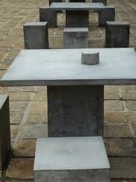 cement table and chairs polished cement tables and chairs picture of dutch hospital