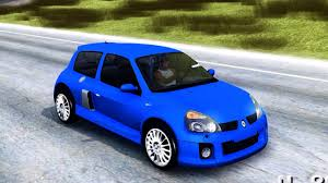 renault clio v6 modified renault clio v6 tunable gta san andreas youtube